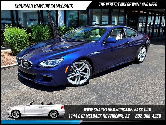 2013 BMW 6-Series 640i Mspt Pkg Nav 21532 miles 1144 E Camelback Rd 6023852286Drive for a