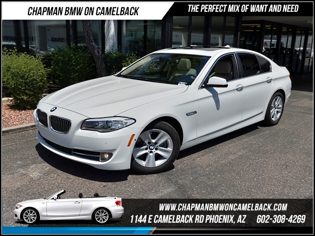 2013 BMW 5-Series 528i Premium Pkg Tech Pkg Driver 35687 miles Premium Package Technology Packag