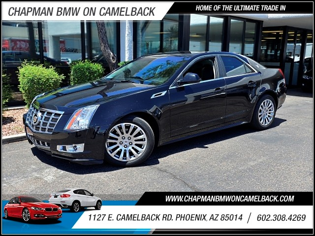 2012 Cadillac CTS 36L Premium 40878 miles 602 385-2286 1127 E Camelback HOME OF THE ULTIMAT