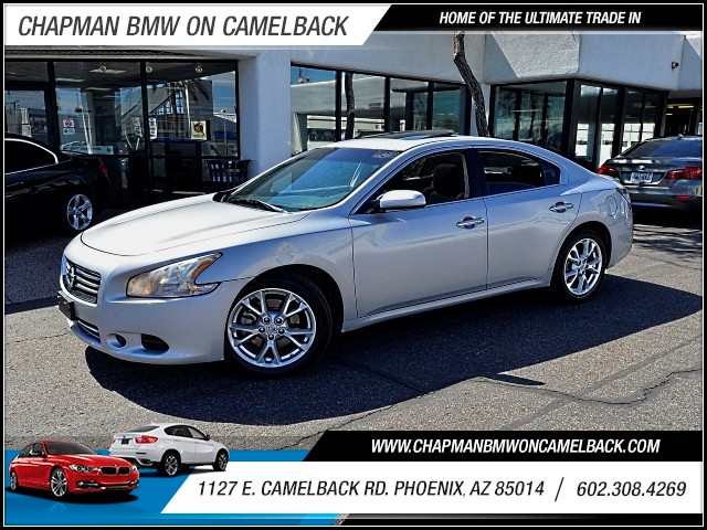 2012 Nissan Maxima 35 SV 62013 miles 602 385-2286 1127 E Camelback HOME OF THE ULTIMATE TRA