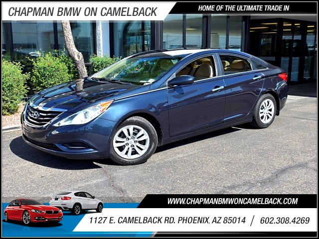 2013 Hyundai Sonata GLS 59137 miles 602 385-2286 1127 E Camelback HOME OF THE ULTIMATE TRADE