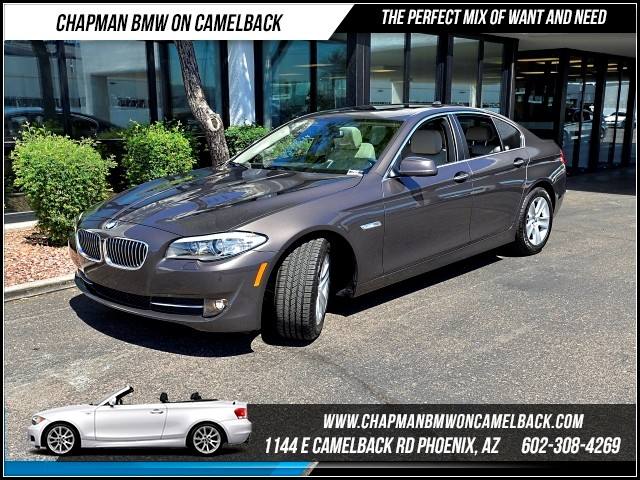 2013 BMW 5-Series 528i Tech Pkg 10357 miles 1144 E Camelback Rd 6023852286Why Buy New Sale
