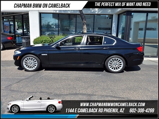 2013 BMW 5-Series 535i PremTech Pkg 29824 miles 1144 E Camelback Rd 6023852286Why Buy New