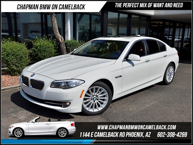 2013 BMW 5-Series 535i Premium Pkg 25861 miles Premium Package Satellite communications BMW Assi