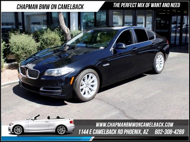 2014 BMW 5-Series 535i PremDriver AssistNav 42301 miles 1144 E Camelback Rd 6023852286Dr