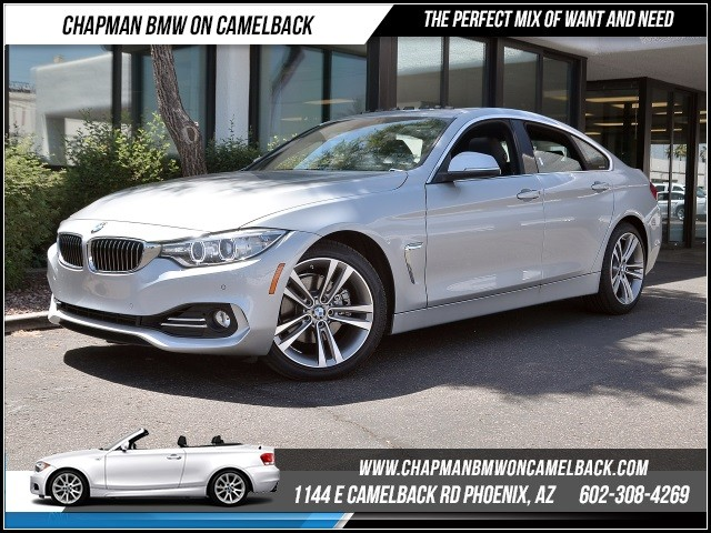 2016 BMW 4-Series 428i Gran Coupe 6302 miles Luxury Line Driver Assistance Package Technology P
