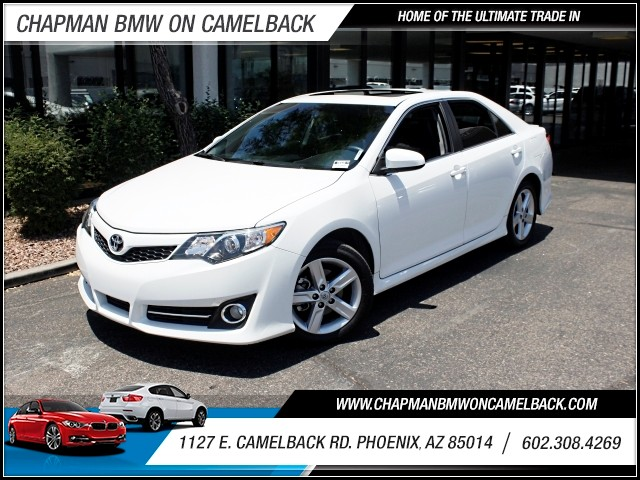 2014 Toyota Camry SE 41720 miles 602 385-2286 1127 E Camelback HOME OF THE ULTIMATE TRADE IN