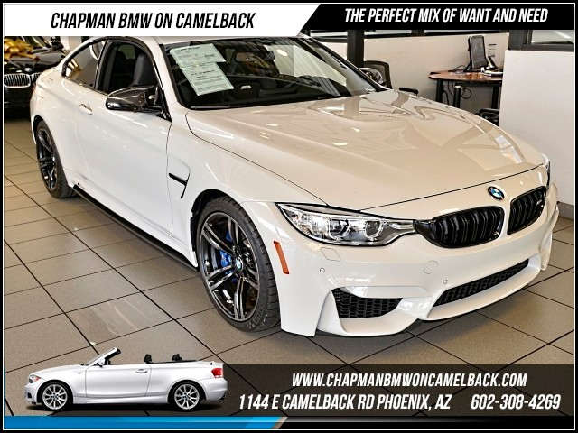 2015 BMW M4 2862 miles Executive Package Harman Kardon surround sound Heated front seats 19 B