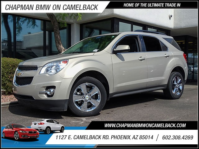 2012 Chevrolet Equinox LT 14942 miles 60238522861127 E Camelback Rd Chapman Value center on