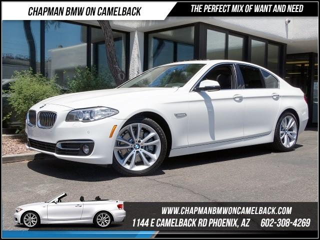 2016 BMW 5-Series 535i Lux Line PremDriver Assist 14322 miles 1144 E Camelback Rd 602385228