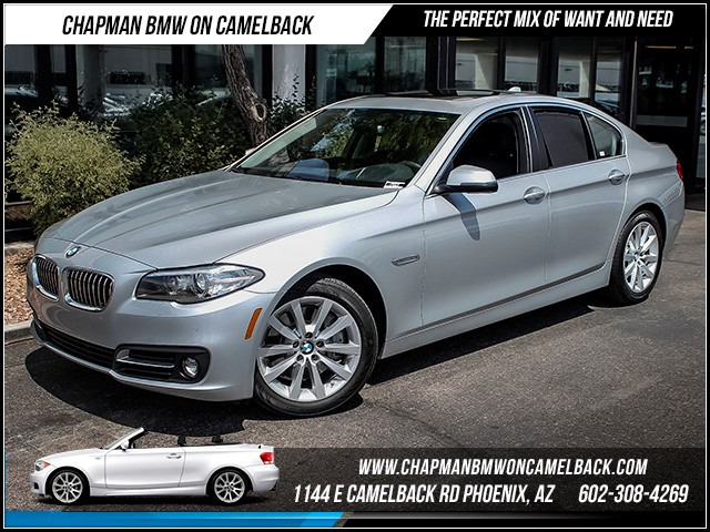 2016 BMW 5-Series 535i 6283 miles Driver Assistance Package Premium Package Satellite communica