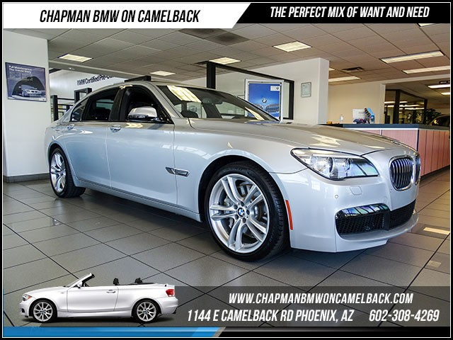 2013 BMW 7-Series 750Li 36248 miles M Sport Package Executive Package Real time traffic Phone