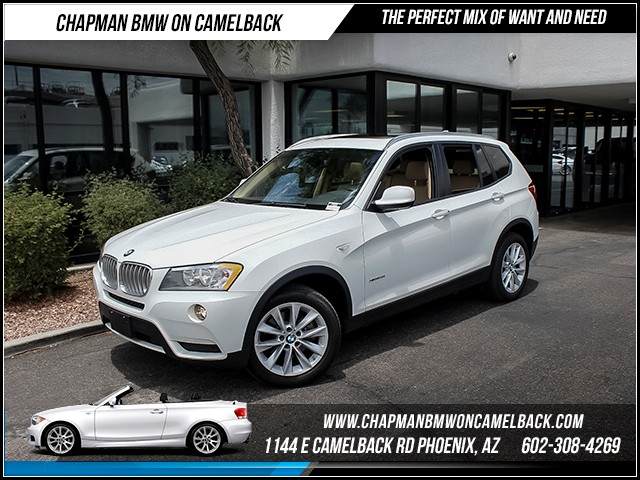 2013 BMW X3 xDrive28i 29646 miles Premium Package Technology Package Cold Weather Package Phon