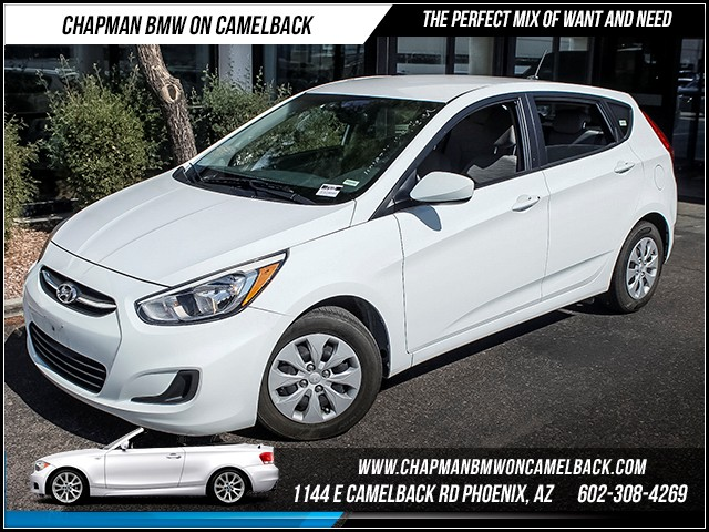 2015 Hyundai Accent GS 45186 miles 60238522861127 E Camelback Rd Chapman Value center on Ca