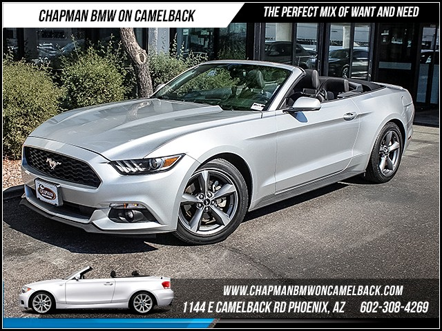 2015 Ford Mustang 33095 miles Phone hands free Phone voice activated Wireless data link Bluetoo