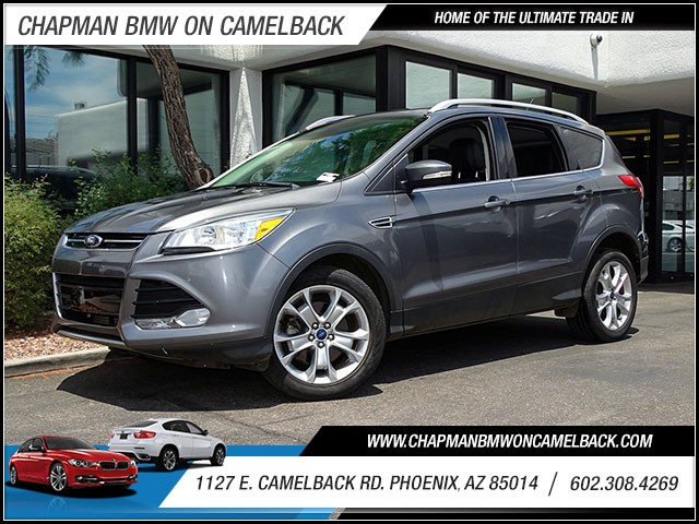2014 Ford Escape Titanium 34560 miles Real time traffic Wireless data link Bluetooth Wifi hotsp