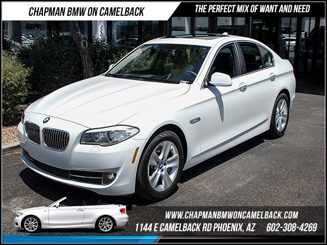 2013 BMW 5-Series 528i 21102 miles Premium Package Technology Package Satel