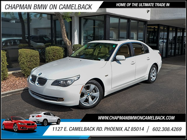 2008 BMW 5-Series 528i 78354 miles Wireless data link Bluetooth Phone voice activated Phone han