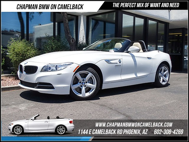 2015 BMW Z4 sDrive28i 8889 miles Technology Package Wireless data link Bluetooth Satellite comm
