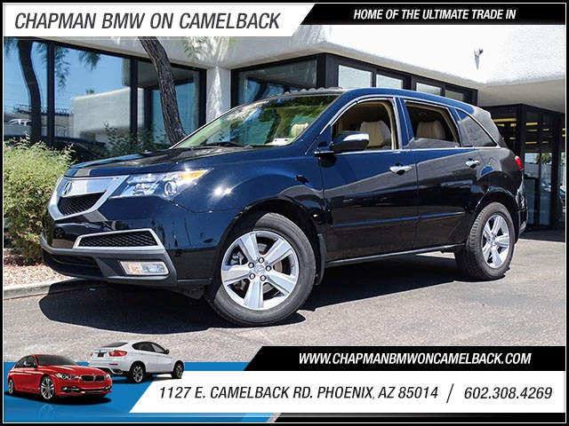 2012 Acura MDX SH-AWD 54017 miles 60238522861127 E Camelback Rd Chapman Value center on Cam