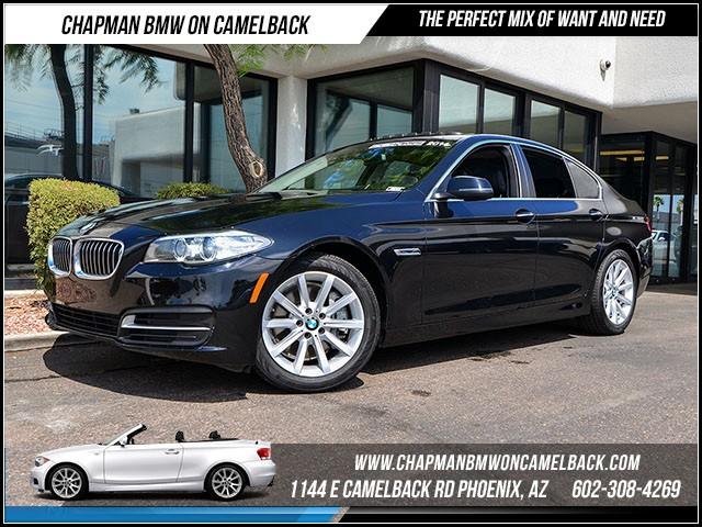 2014 BMW 5-Series 535i 39888 miles Premium Package Driver Assistance Package Real time traffic