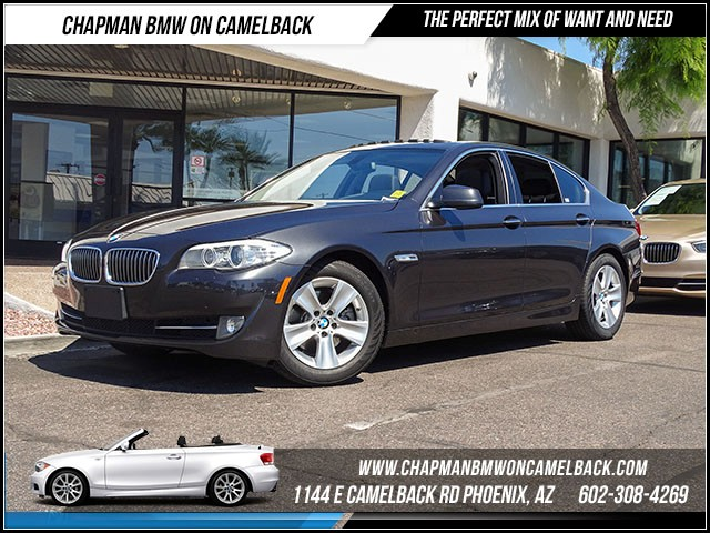 2013 BMW 5-Series 528i Prem Pkg 44152 miles 1144 E Camelback Rd 6023852286Drive for a cure