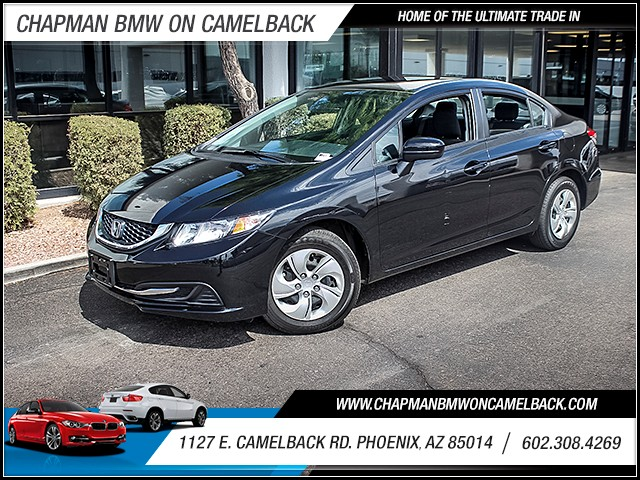 2015 Honda Civic LX 9242 miles 60238522861127 E Camelback Rd Chapman Value center on Camelb