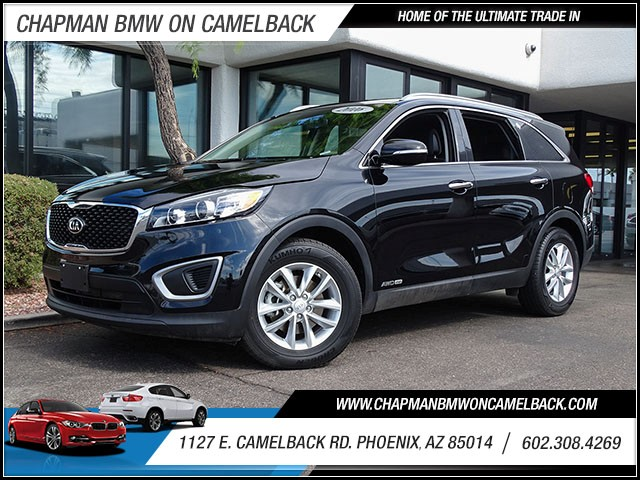 2016 Kia Sorento LX 39064 miles 60238522861127 E Camelback Rd Chapman Value center on Camel