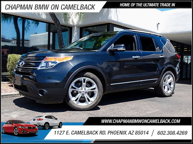 2013 Ford Explorer Limited 35218 miles 60238522861127 E Camelback Rd Chapman Value center o