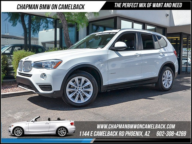2015 BMW X3 xDrive28i 32924 miles Driver Assistance Package Satellite communications BMW Assist