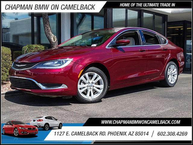 2016 Chrysler 200 Limited 19740 miles 60238522861127 E Camelback Rd Chapman Value center on