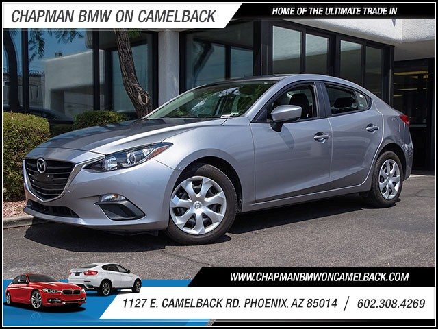 2015 Mazda MAZDA3 i Sport 35865 miles 60238522861127 E Camelback Rd Chapman Value center on
