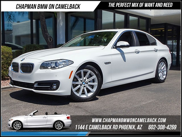 2015 BMW 5-Series 535i 28551 miles Premium Package Driver Assistance Package Satellite communic