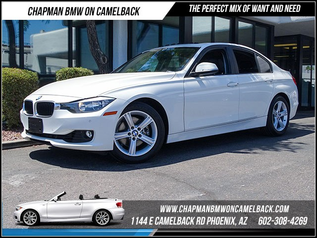 2014 BMW 3-Series Sdn 328i 23897 miles Driver Assistance Package Satellite communications BMW As