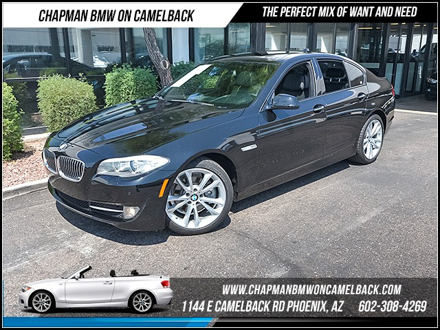 2012 BMW 5-Series 528i 60486 miles 1144 E Camelback Rd 6023852286 Certified Pre Owned Fall