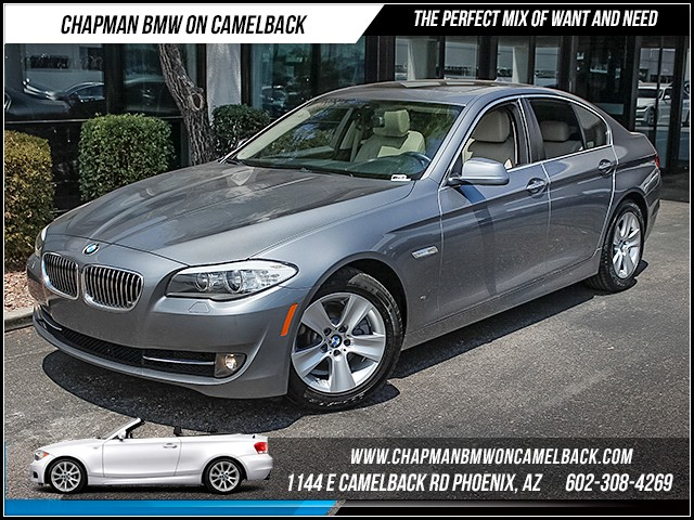2013 BMW 5-Series 528i 24187 miles Premium Package Real time traffic Wireless data link Bluetoo