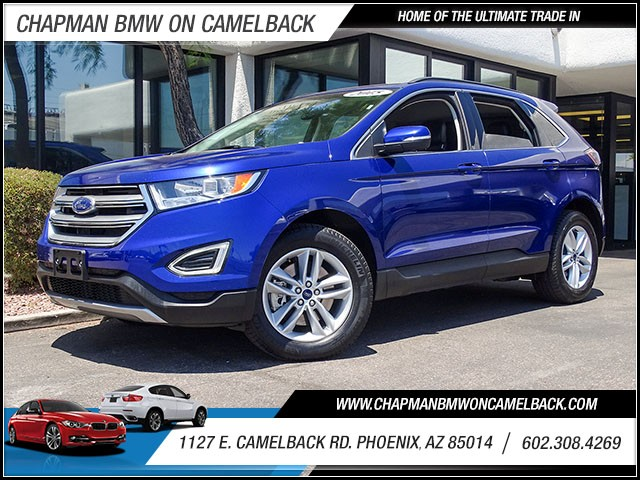 2015 Ford Edge SEL 33523 miles Wireless data link Bluetooth Electronic messaging assistance with