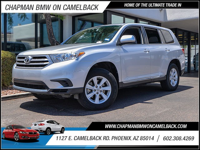 2013 Toyota Highlander 29403 miles 60238522861127 E Camelback Rd Chapman Value center on Ca