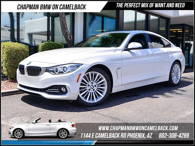 2016 BMW 4-Series 428i Gran Coupe 5616 miles Luxury Line Cold Weather Package Driver Assistance