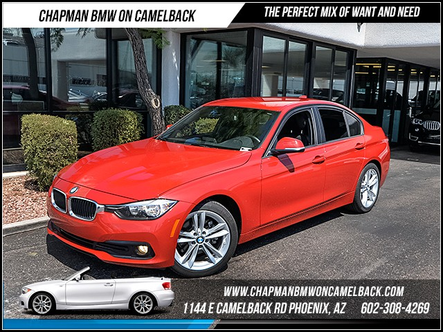 2016 BMW 3-Series Sdn 320i 4212 miles Sport Package Satellite communications BMW Assist Wireles