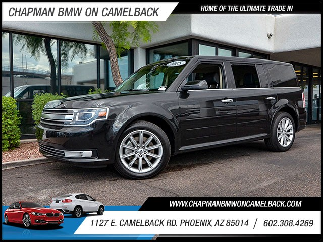 2015 Ford Flex Limited 40567 miles 60238522861127 E Camelback Rd Chapman Value center on Ca