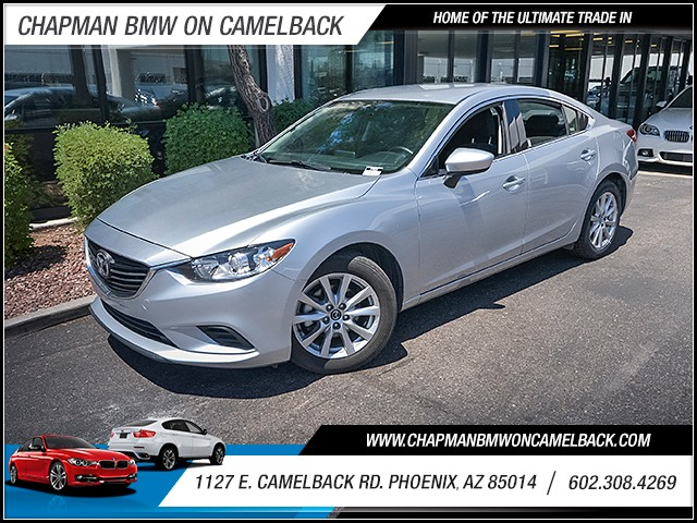 2016 Mazda MAZDA6 i Sport 39278 miles 60238522861127 E Camelback Rd Chapman Value center on