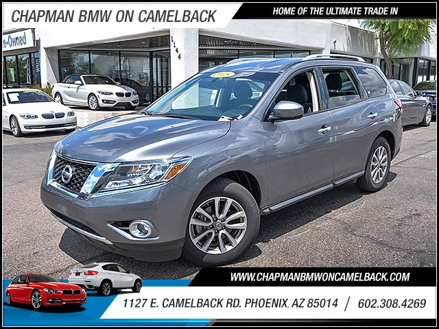 2015 Nissan Pathfinder SV 4WD 38972 miles 60238522861127 E Camelback Rd Chapman Value cente