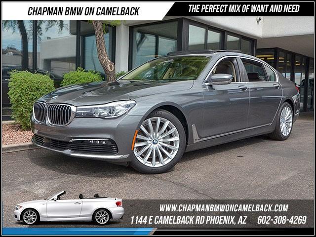 2016 BMW 7-Series 740i Driver AssistExec Pkg Nav 13275 miles 1144 E Camelback Rd 6023852286