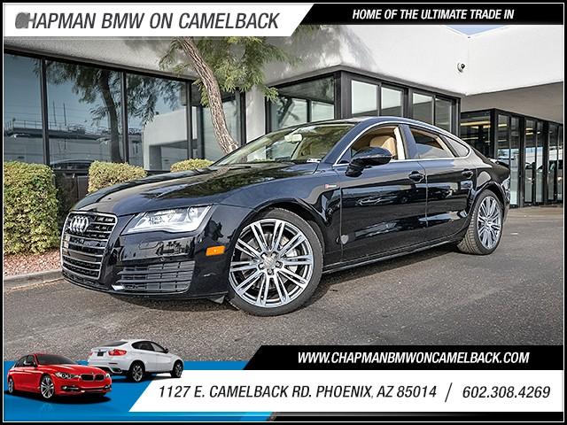 2012 Audi A7 30T quattro Prem Plus 39909 miles 6023852286 1127 E Camelback Rd Chapman Valu