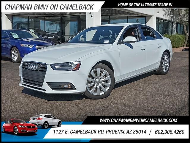2013 Audi A4 20T Premium 45700 miles 6023852286 1127 E Camelback Rd Chapman Value center o