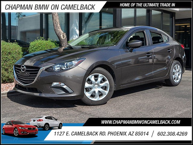 2015 Mazda MAZDA3 i Sport 39980 miles 60238522861127 E Camelback Rd Chapman Value center on