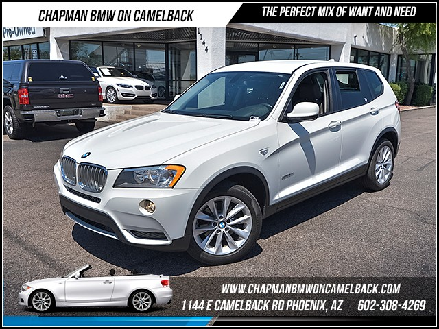 2014 BMW X3 xDrive28i 34919 miles 1144 E Camelback Rd 6023852286 Certified Pre Owned Fall