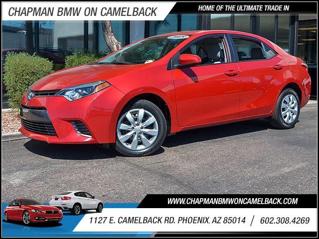 2015 Toyota Corolla LE 41372 miles 6023852286 1127 E Camelback Rd Chapman Value center on C