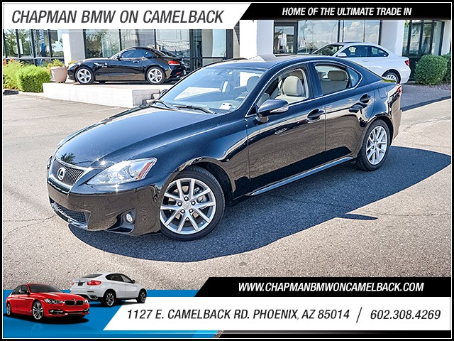 2013 Lexus IS 250 45378 miles 6023852286 1127 E Camelback Rd Chapman Value center on Camelb